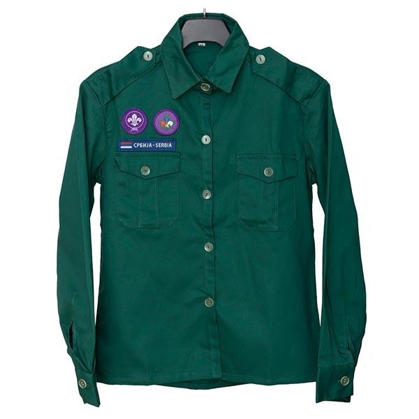 uniforme za izviđače i planinke